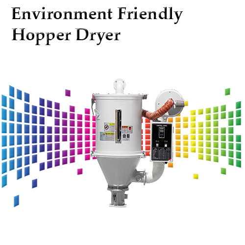 Environment Friendly Hopper Dryer