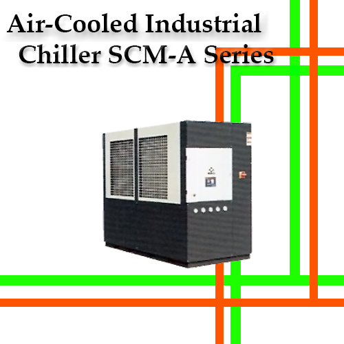 Air-cooled Industrial Chiller SCM-A Series
