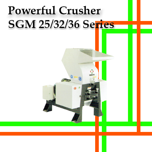 Powerful crusher SGM25/32/36 Series