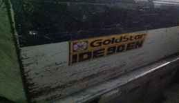 MACHINE GOLDSTAR IDE90EN
