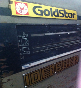 MACHINE GOLDSTAR IDE160EN
